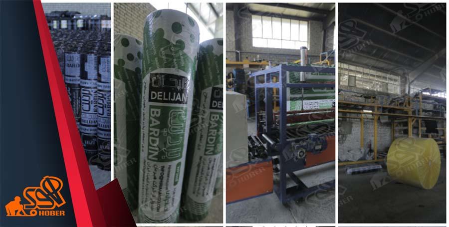 کارخانه ایزوگام صادراتی